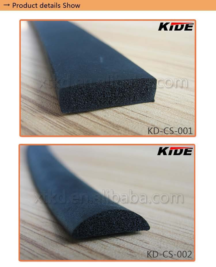 Extruded Rubber Seal Half Round Rubber Strip Buy Half