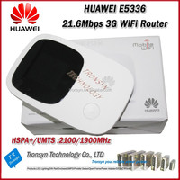New Arrival Original Unlock HSPA+ 21.6Mbps E5336 Portable 3G WiFi Router With Sim Card Slot And 3G Mobile WiFi Hotspot