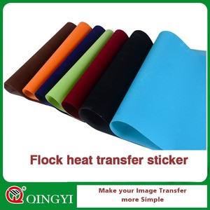flock heat transfer paper for Textiles