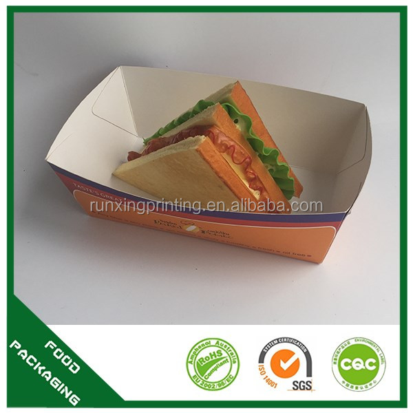 A food packaging paper Material and Food Use packing hot food containers