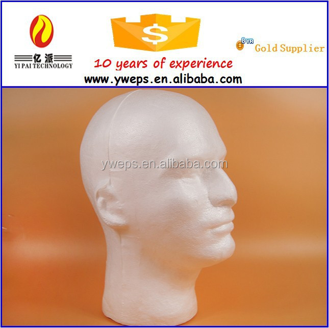 Fast delivery good service wholesale styrofoam heads