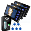 2016 new product camera door lock with 7 inch monitor