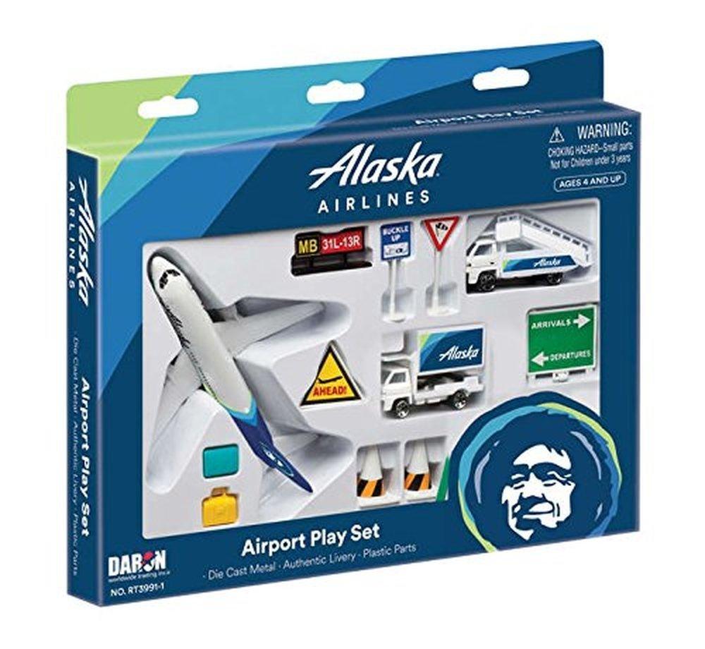 Daron Alaska Airlines Airport Play Set