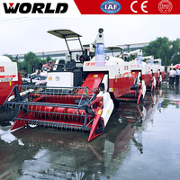 paddy mini rice harvester machine combine price spare parts