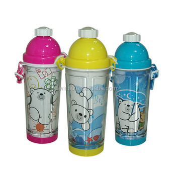 Heat transfer double wall 400ml water bottle