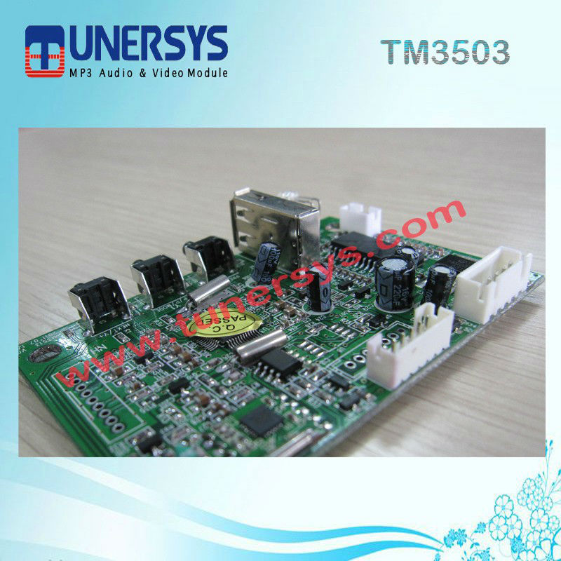 usb board oem mp3 player TM3503 AM FM mp3 module from Tunersys