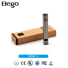 100% Original 1600mah Rechareable IPOW Battery 510/EGO Kanger IPOW 2 Battery Wholesale