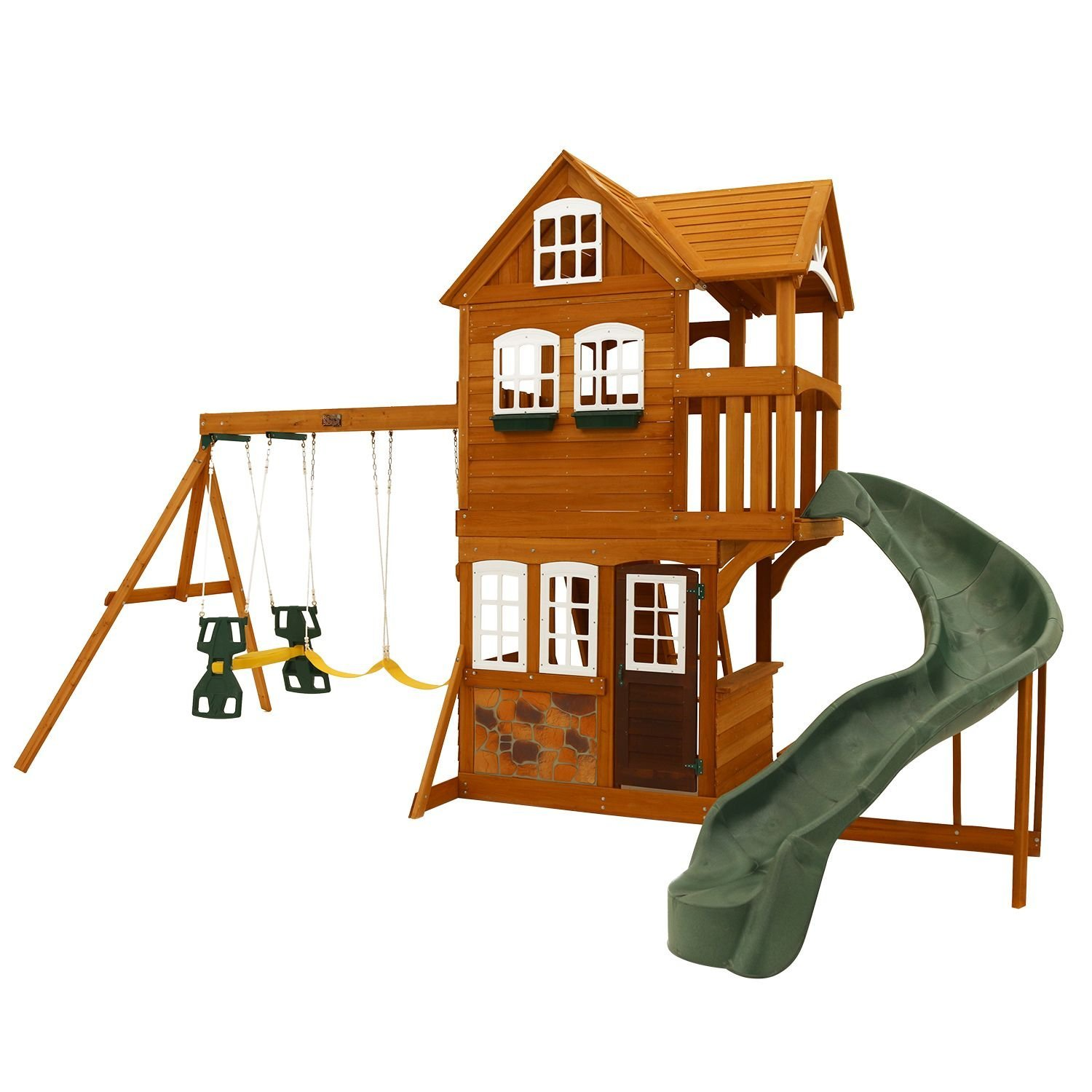 Buy Cedar Summit Clarington Resort Playset Do It Yourself In Cheap