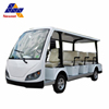 Power can be recycled 14 seats 4 wheels electric tourist car