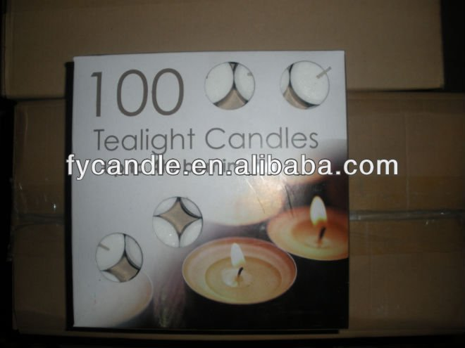 wholesale paraffin tea-light candle/t-light candels/tealight 8 hours