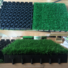 China garden courtyard decoration artificial grass lawn carpet flooring interlocking turf tiles