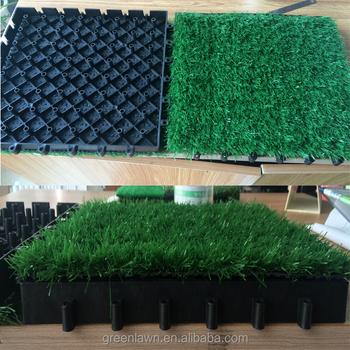 Piastrelle In Plastica Giardino.Cina Giardino Cortile Decorazione Erba Artificiale Prato Tappeto