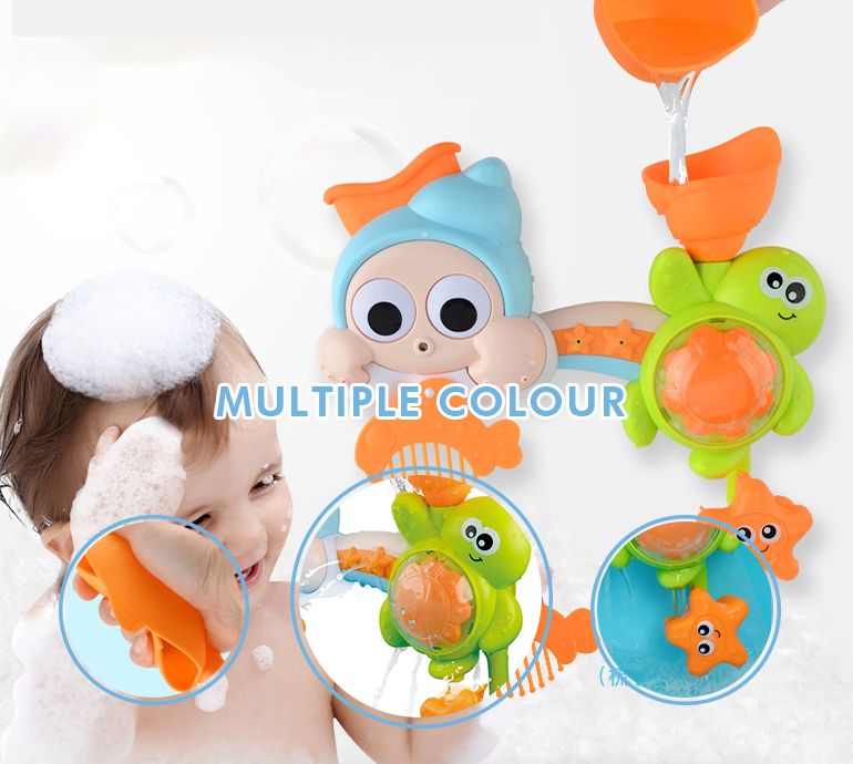 Custom design funny plastic cheap mini educational baby kids toddler bath toys