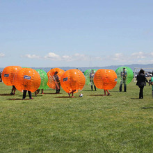 PVC Inflatable bubble soccer ball