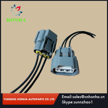 3 way ignition coil pack connector plug or pigtail wiring harness rh alibaba com Volkswagen Connectors 4 Pin Connector Auto