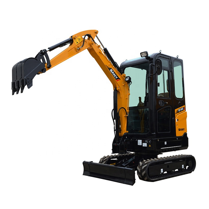China official manufactures S ANY 5.4 tons mini excavator SY50C for sale