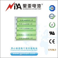 1.2V AAA battery Ni-MH rechargeable battery