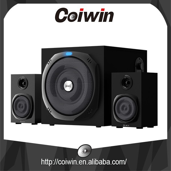 Coiwin 2.1speaker/usb/sd/fm/remote multimedia player/led display/3D amplifier speaker/2.1home theater system speaker