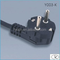 korea power cord 250v 16a KC approved power supply plug for home appliance/laptop