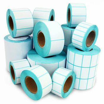 Tklabel 100 X 150mm White Direct Thermal Labels - Zebra  Gk420d,Gx420d,Gk420t - 5 Rolls 1,250 Labels - Buy Thermal Label,Blank Roll  Labels,Roll