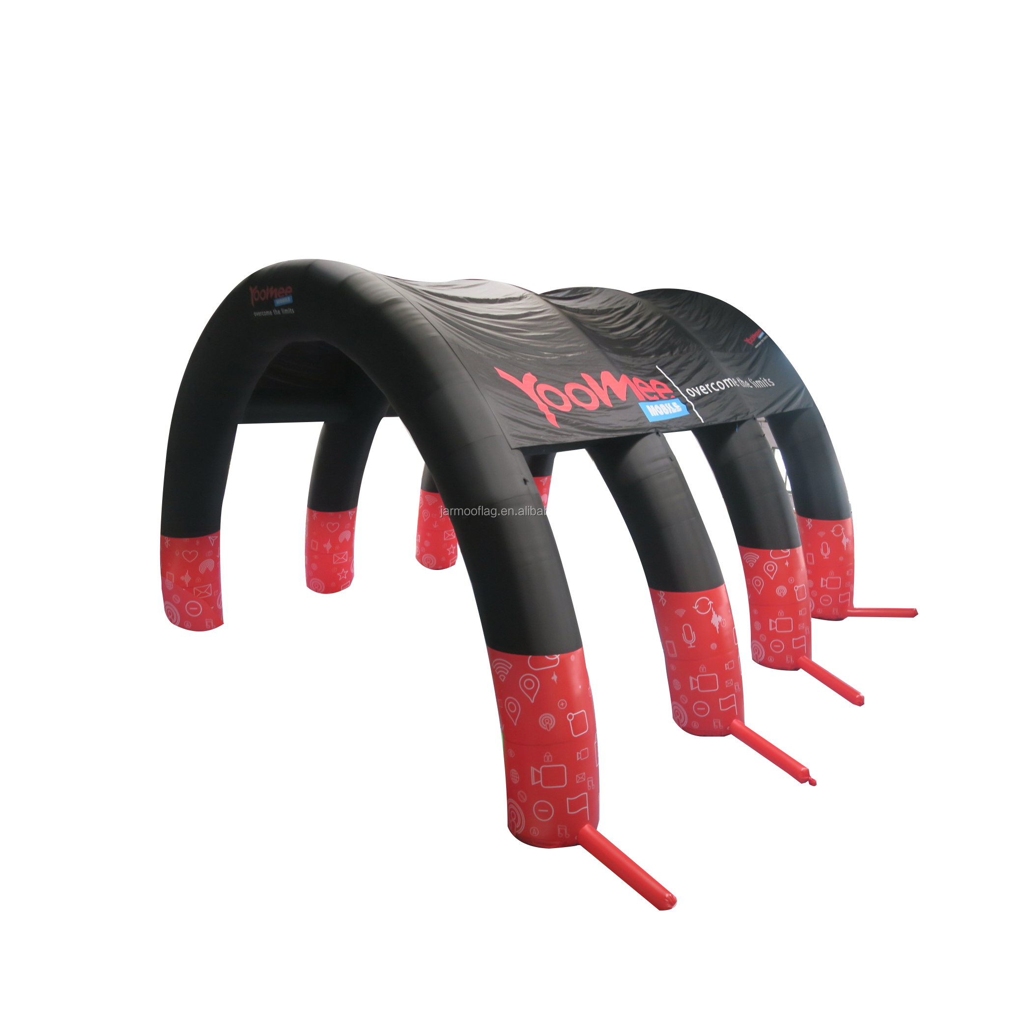 Blow Up Inflatable Arch, Air Tight Style Race Inflatable Arch Gate  with Air Blower and Pump
