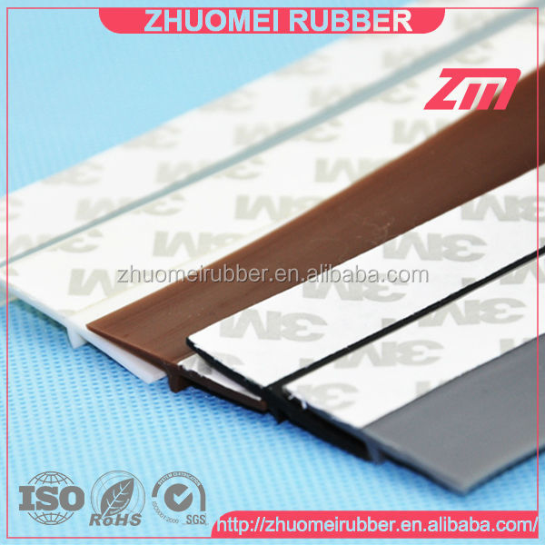 shower door threshold silicone seal door sweep