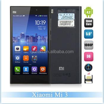 Xiaomi Mi3 64gb Rom 2gb Ram Qualcomm 800 Cpu 2.3ghz Quad Core 3g ...