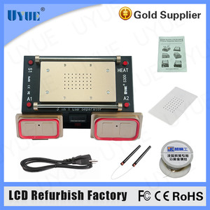 2017 Fix Cell Phone Broken Lcd 3 In 1 Lcd Touch Screen Glass Separator Machine For Samsung Repair