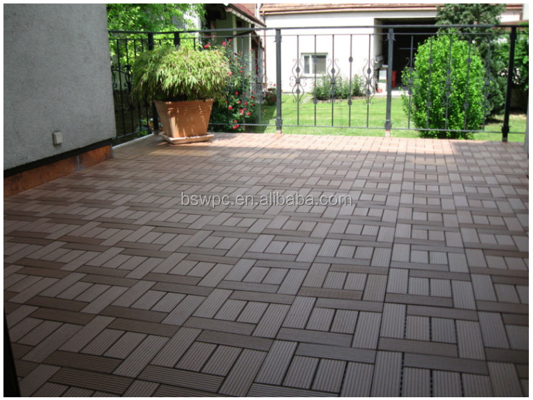 Outdoor Wpc Decking Woodplastic Composite Flooring Tiles Patio