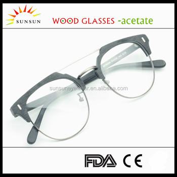 564d0811b9 china wholesale classic design optical frame double bridge eyeglasses frame