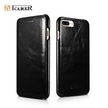 2017 New Leather Skin Simple Back Cover Case for iphone 7 7 plus Phone Case