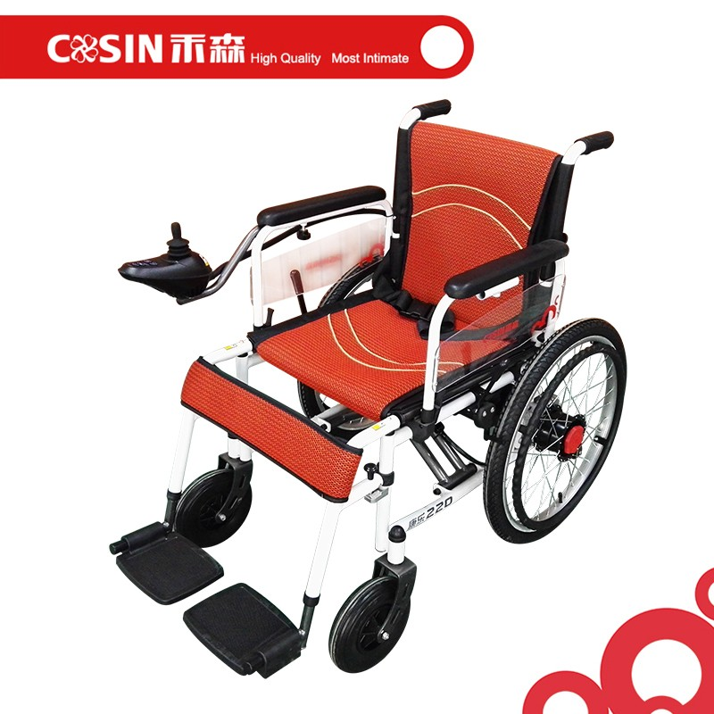 Folding portable electric whee chair lightweight power Portable motorized wheelchair