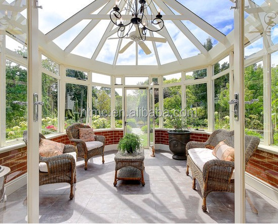 2015 modern fashion polycarbonate sunroom buy polycarbonate sunroom frosted glass room for Sunroom garden room