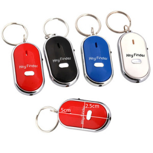 Unionpromo Promotion Portable wireless LED Whistle keyring Key Finder