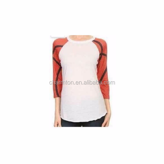 Wholesale Monogrammed Women's Basketball Raglan