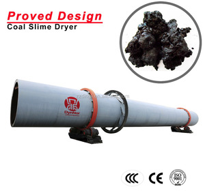 High Energy-efficient Rotary Coal Slime Dryer with Upgraded Design