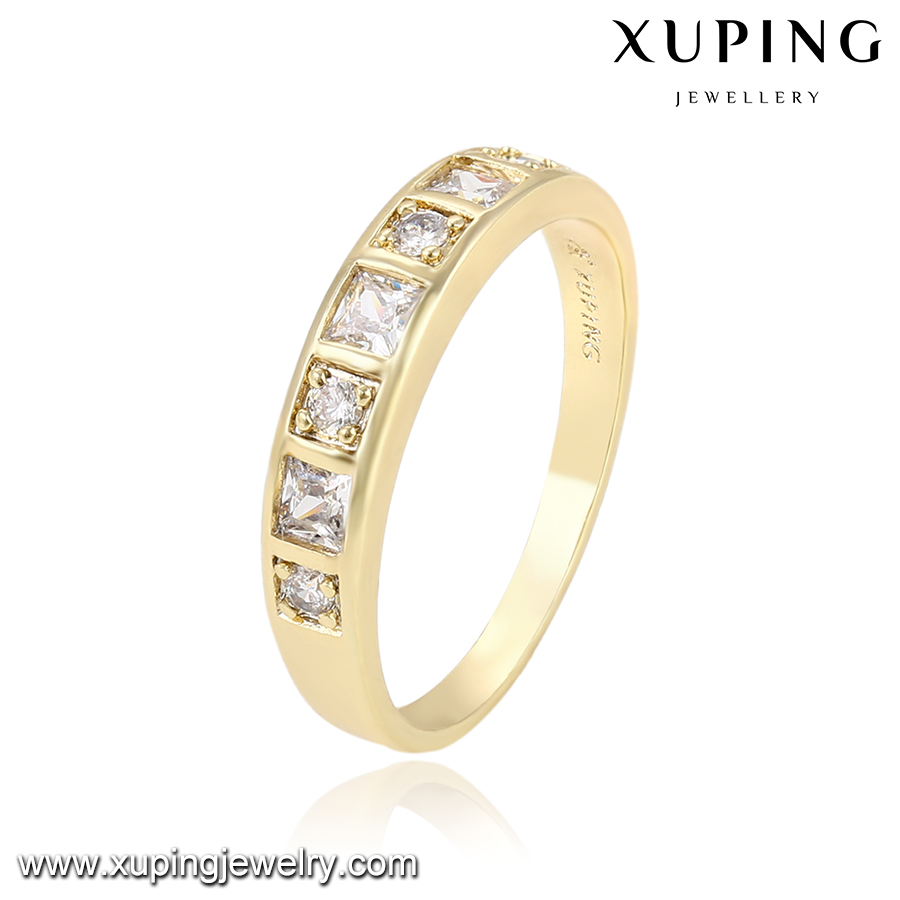 13492 Xuping Whole Fashion Costume Jewelry 14k Simple Elegant Rings For Age S Gold Ring