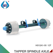 Competitive Price Swivel Rear Wheel Solid Steel Axles
