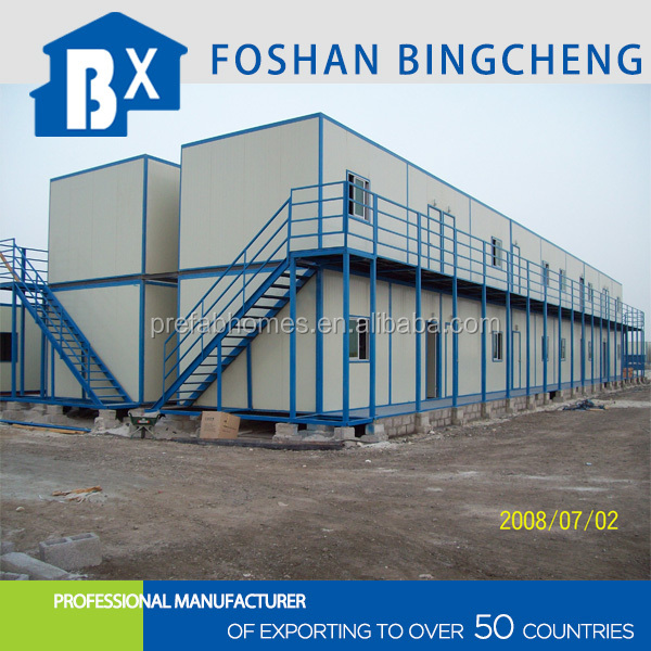 china supplier flat-pack accommodation container house
