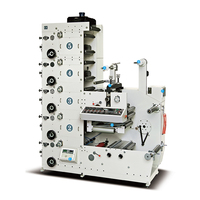 China Supplier Automatic Roll To Roll 2 colors flexo printing machine