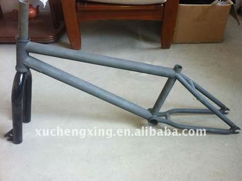 lugged steel road bike frame