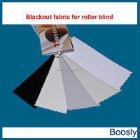 100% blackout roller blind fabric with total sunproof effect