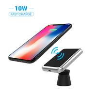 Wireless Car Charger 10W Magnetic Air Vent Car Holder Mount Charger QI Approved