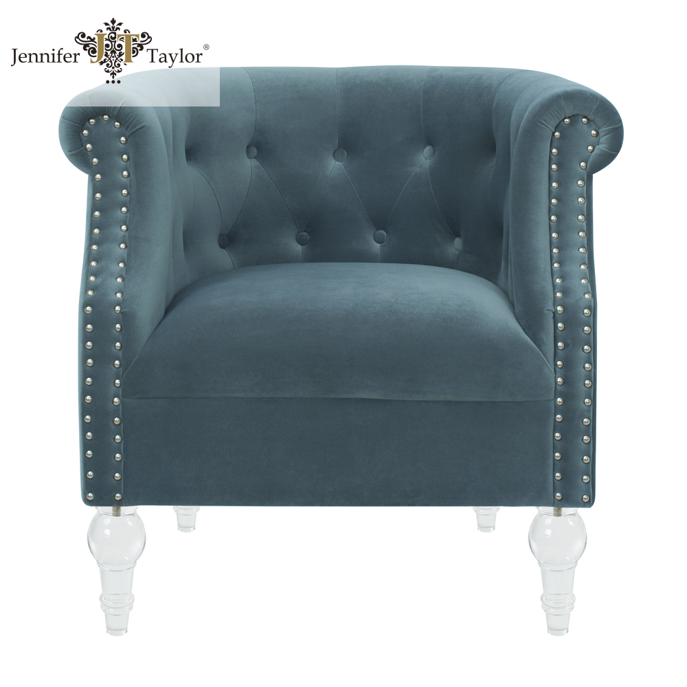 Hotel lobby furniture classic fabric arm chair with great price