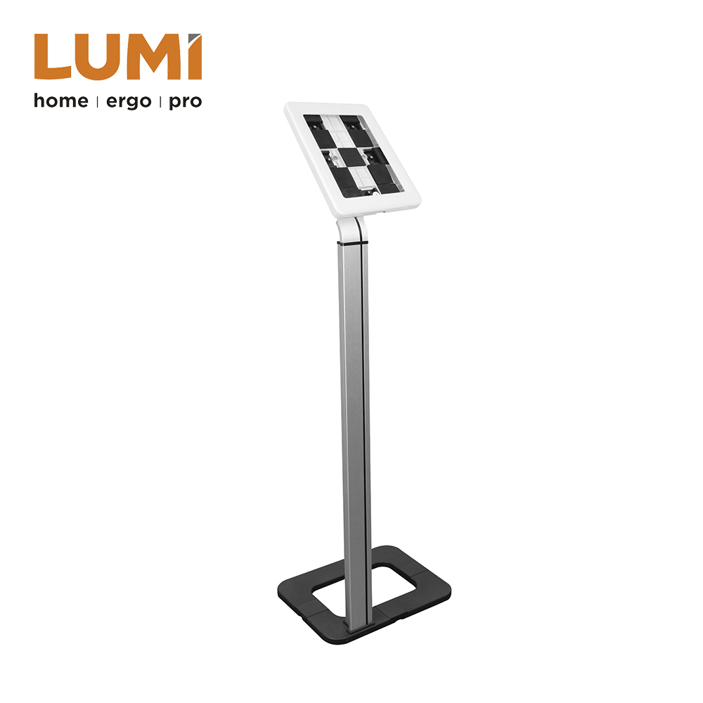 Anti-theft Tablet Security Floor Stand,Adjustable Tablet Holder Kiosk Floor Stand Aluminum,Tablet Display Stand
