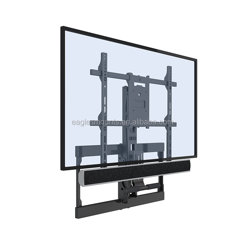 Fireplace Up And Down Tilt TV Bracket With 20 to 60 kg Max Load