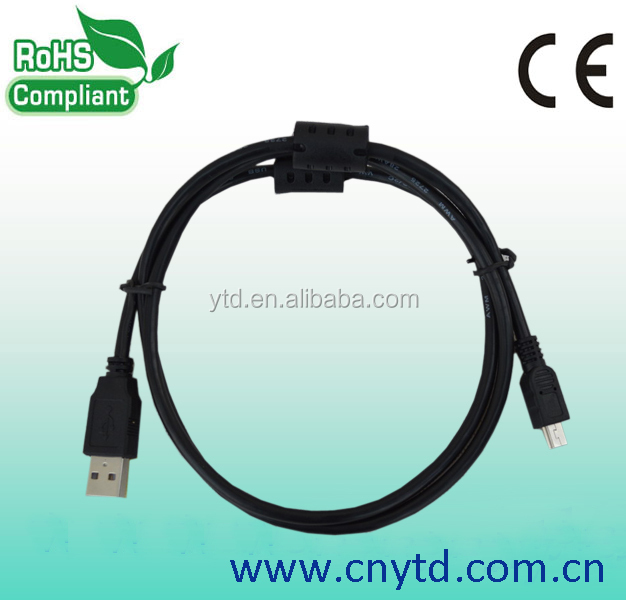 2015 best 20cm mini usb cable2.0 pvc insulated cable
