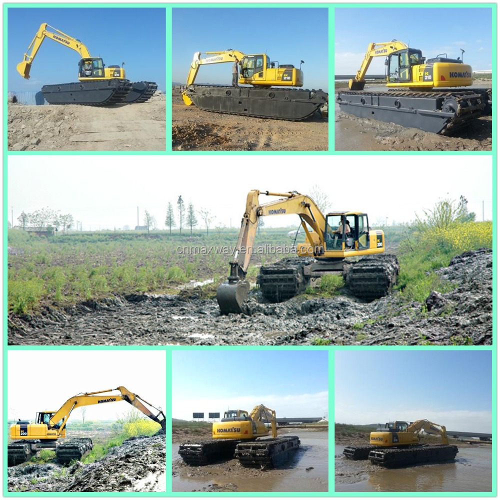 MAXWAY Cheap PC210 PC220 PC240 PC270 Amphibious Excavator for sale , CE , EPA , SGS , Model: MAX210SD