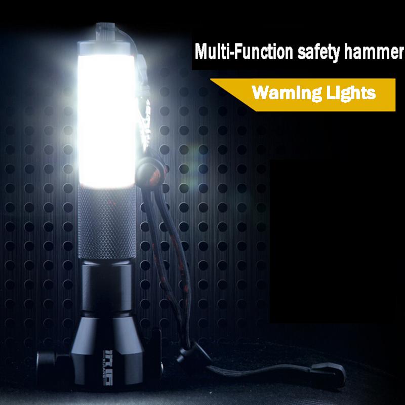 2016 новый автомобиль безопасности молоток спасательные многофункциональный побег молоток автомобиль аварийной молотка побег инструмента ( электрический ) факел