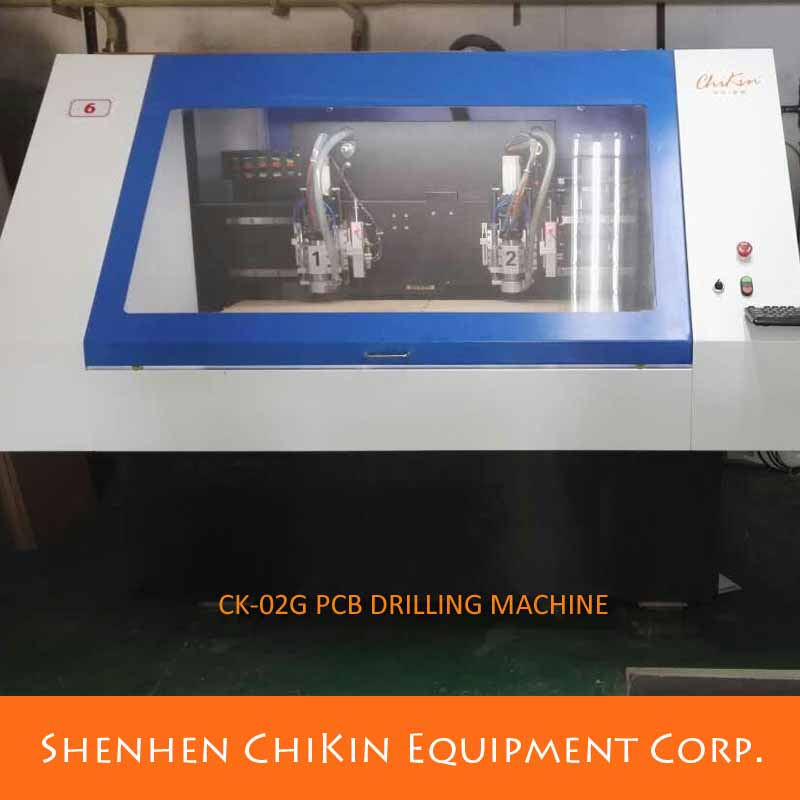 NSK Ball screw driving mode PCB DRILLING MACHINE CNC
